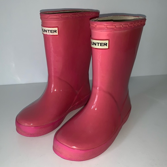 Hunter Original First Kids Rain Boots Toddler Little Girl Sizes NEW
